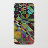 fault iPhone & iPod Cases featuring Fault Lines by Klara Acel