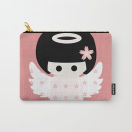 Angel Kokeshi Carry-All Pouch