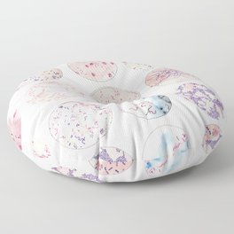 Microbe Collection Floor Pillow