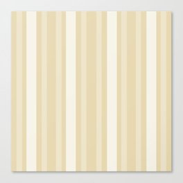 Beeswax Victorian Lady Stripe. Canvas Print