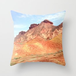 mineral mountain photography Throw Pillow
