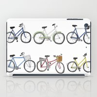 bicycles iPad Cases featuring Bicycles by Bianca_CS