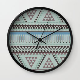 colour pallete Wall Clock