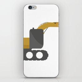 excavator iPhone Skin
