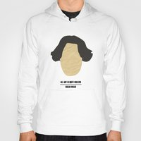 "oscar wilde Hoodies featuring Oscar Wilde - ""All art is quite useless"" by cowcowmoomoo"