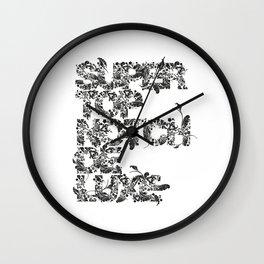 Super Top Notch De Luxe Wall Clock