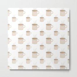 Tea and Coffee Cups Metal Print