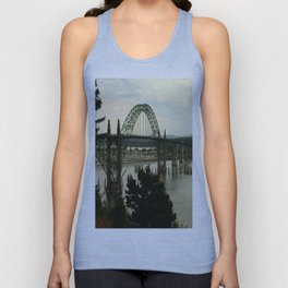 Yaquina Bay Bridge Unisex Tank Top