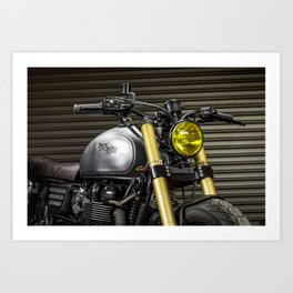 BratStyle Triumph Macco Art Print