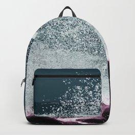 Navy Blue Sea Water Backpack