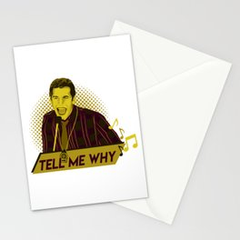 Tell me why - Jake Peralta Stationery Cards