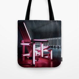 Electric chair. Tote Bag