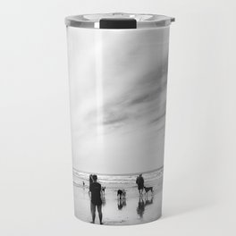 Dog Beach Travel Mug