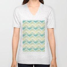 ocean triangles Unisex V-Neck
