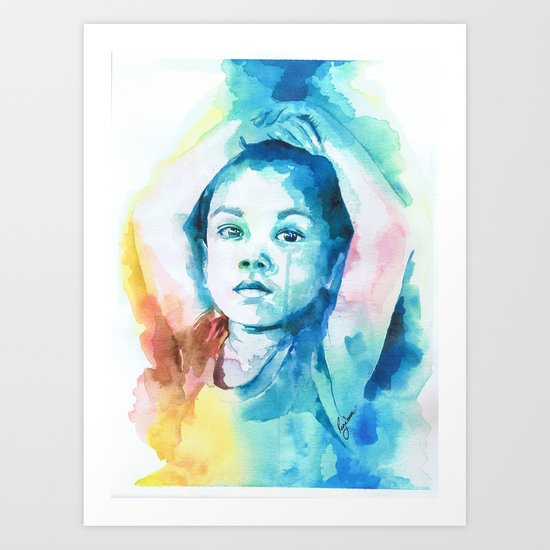 Devolution Art Print