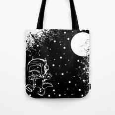 DINOSAUR IN SPACE! Tote Bag