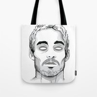 marc johns Tote Bags featuring Daniel Johns by cjay