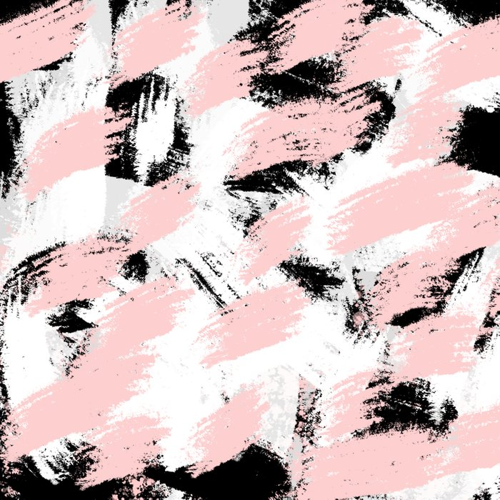 Abstract Pink/white Duvet Cover