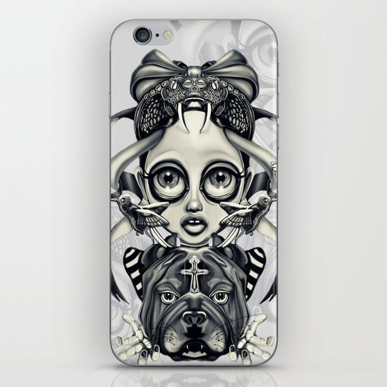 """Tattoeums III"" iPhone & iPod Skin"