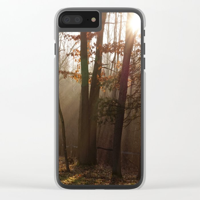 Sunlit Morning Clear iPhone Case