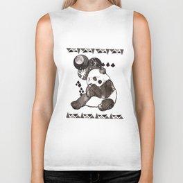 European Panda Biker Tank