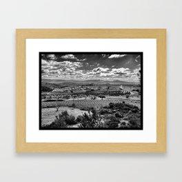 Vista de la Terra Alta Framed Art Print