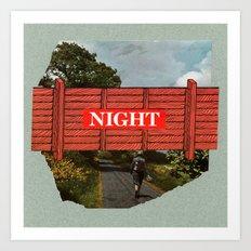 Night Art Print