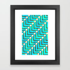 Pixel Repeat no.1 Framed Art Print