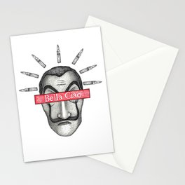 Money Heist Stationery Cards