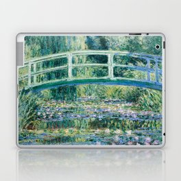 1899-Claude Monet-Water Lilies and Japanese Bridge Laptop & iPad Skin
