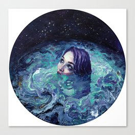 Whirlwind Calm Canvas Print