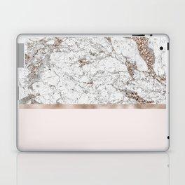 Gleaming rose gold blush Laptop & iPad Skin