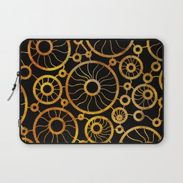 Sunflower Field Pattern Laptop Sleeve