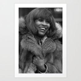 Tina Anna Mae Bullock Turner - Society6 Online Pop Icon - Shop Music Photography Ⓢ.в.乇.⑦⑧ Ⓜⓘⓛⓛⓨ 21 Art Print