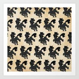Sleipnir Pattern Art Print
