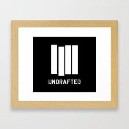 Undrafted Framed Art Print