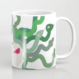 The Gorgon - Medusa Minimalist Coffee Mug