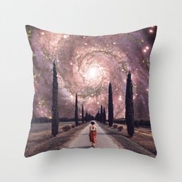 A Wrinkle in Space Throw Pillow