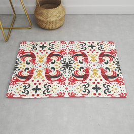 Russian Style Pattern Rug