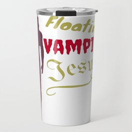 Floating Vampire Jesus Travel Mug