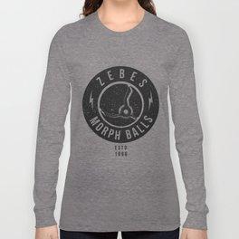 Zebes Morphballs Long Sleeve T-shirt
