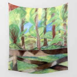Flash of Scenery Wall Tapestry