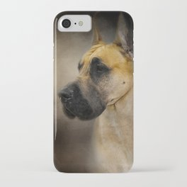 Dashing Great Dane iPhone Case