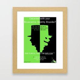 Jekyll Laboratories  Framed Art Print