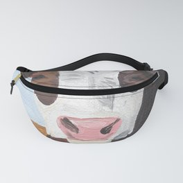 Cow In The Winter Fanny Pack