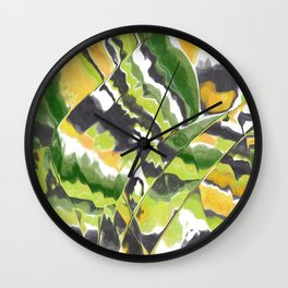 Mesmerized Mango Wall Clock