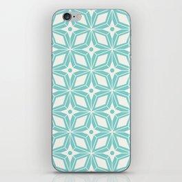 Starburst - Aqua iPhone Skin