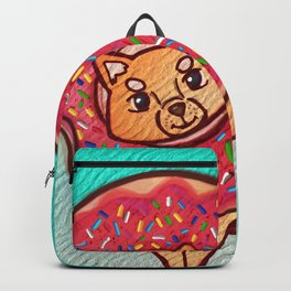 Shiba Donut Backpack