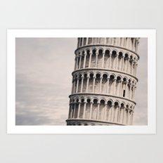 Torre di Pisa Art Print