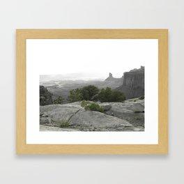 Dry County Framed Art Print